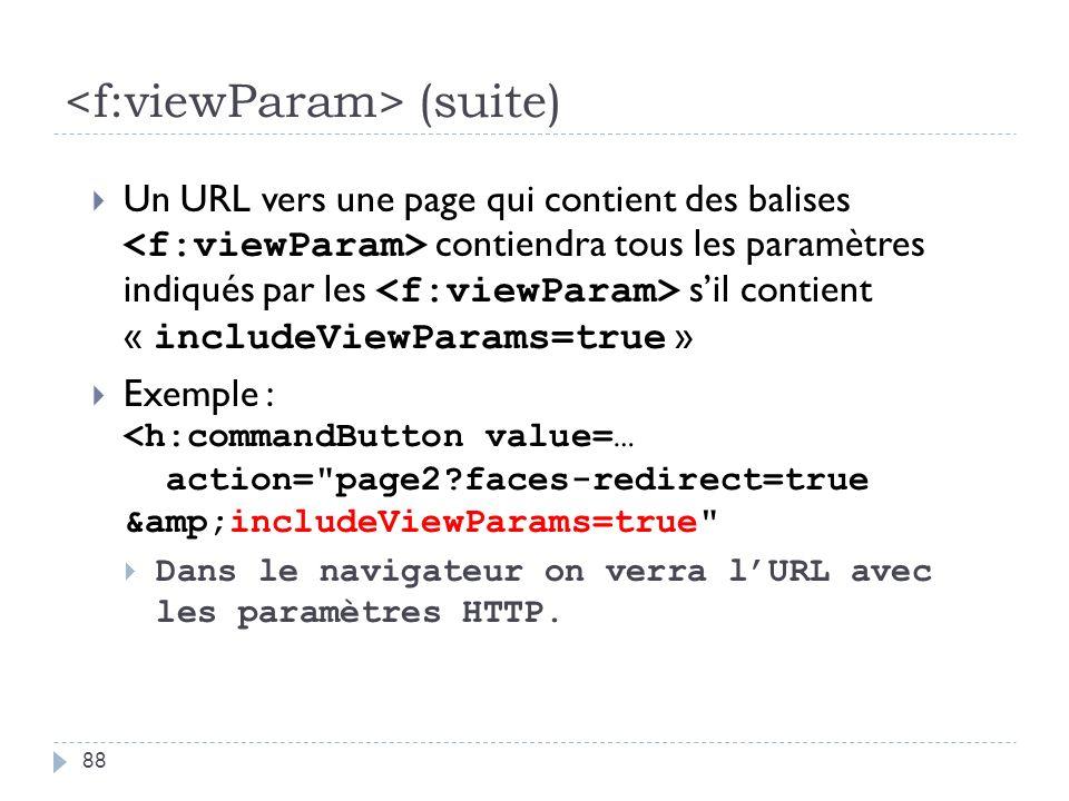 <f:viewParam> (suite)
