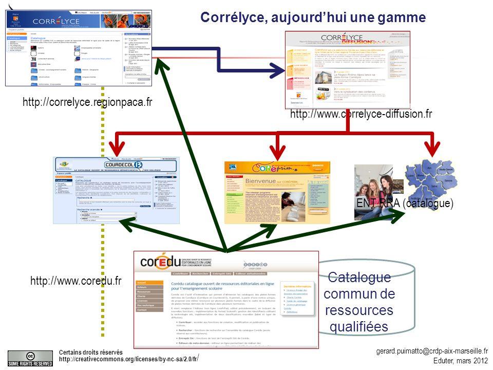 Catalogue commun de ressources qualifiées