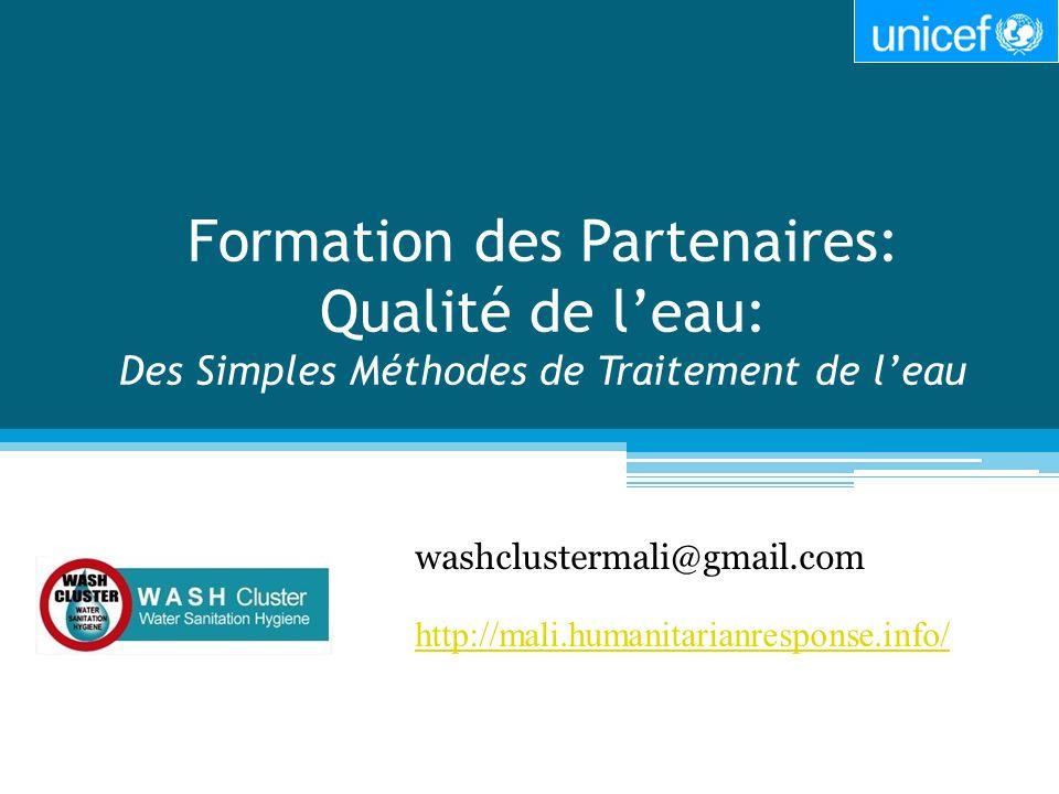 washclustermali@gmail.com http://mali.humanitarianresponse.info/