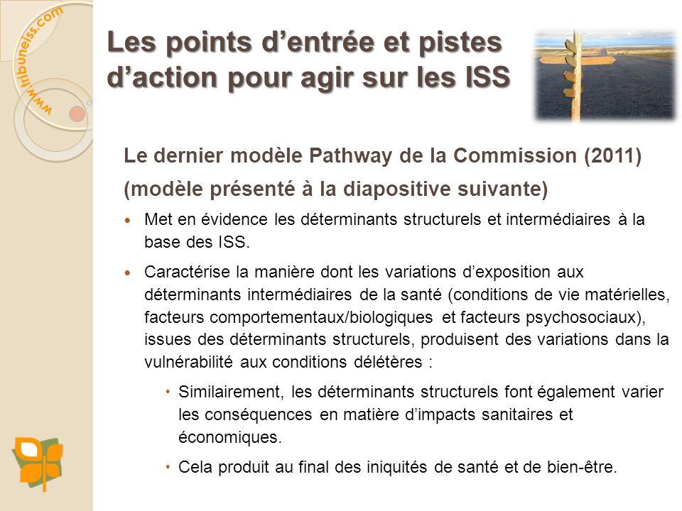 LE MODÈLE PATHWAY DE LA COMMISSION SUR LES DSS DE L'OMS (2011)