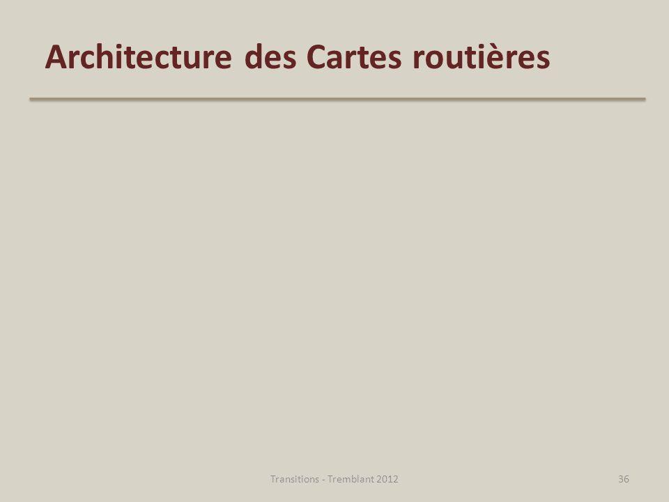 Architecture des Cartes routières