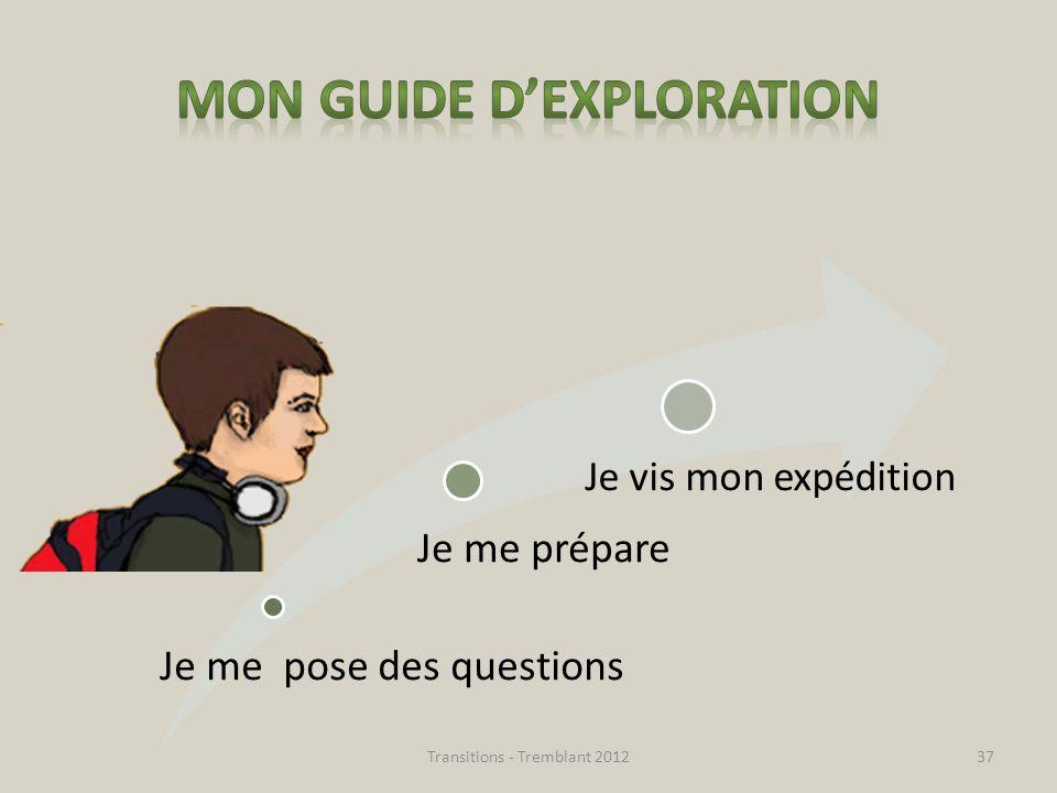 Mon guide d'exploration