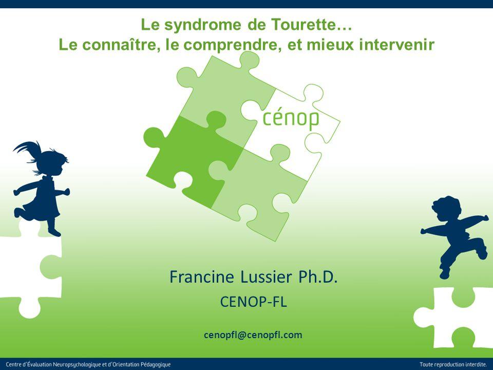 Francine Lussier Ph.D. CENOP-FL cenopfl@cenopfl.com
