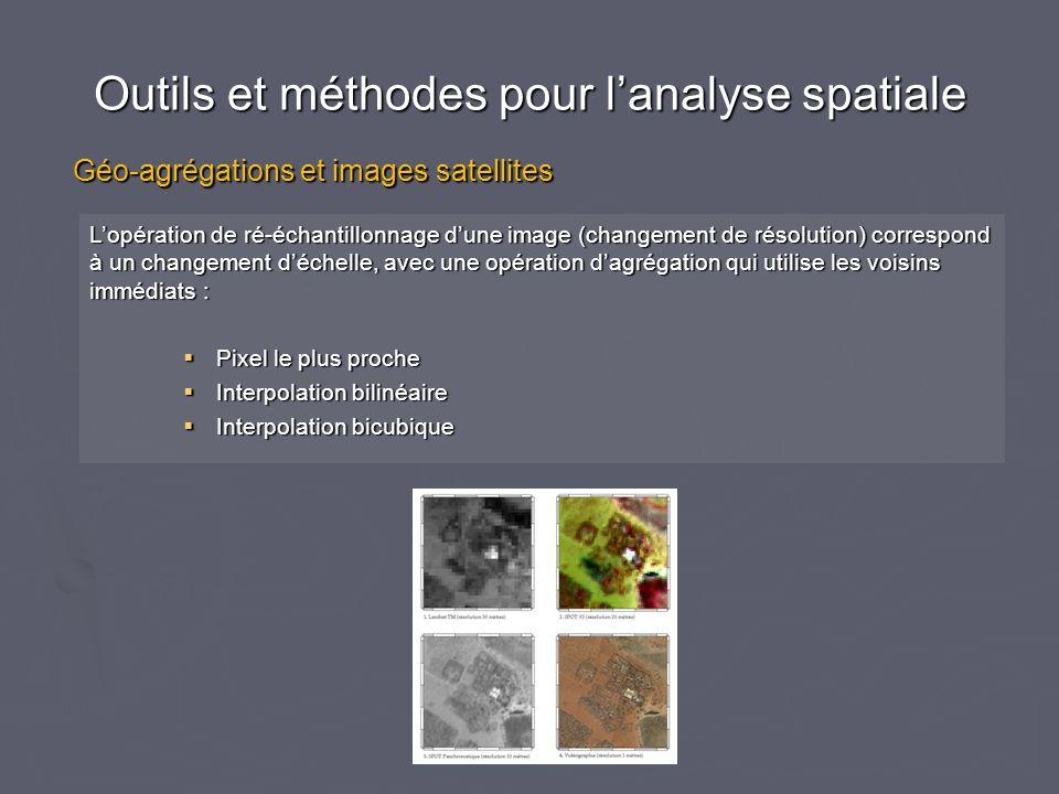 Outils et méthodes pour l'analyse spatiale