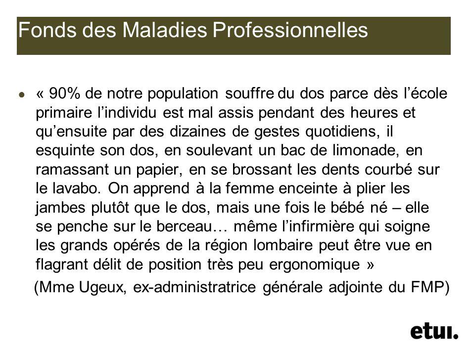 Fonds des Maladies Professionnelles