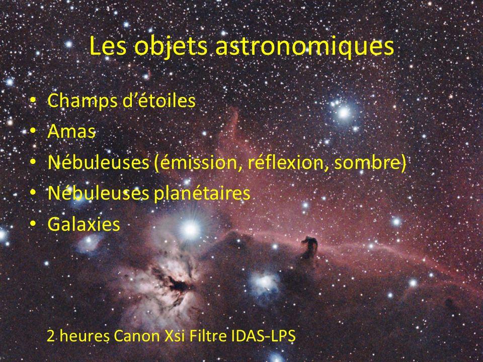 Les objets astronomiques