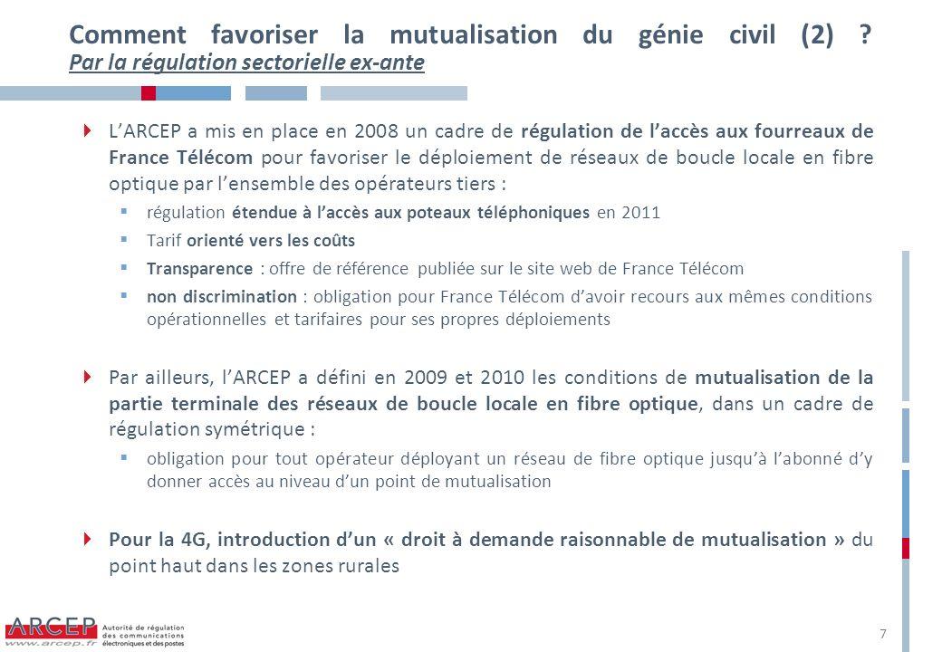 Comment favoriser la mutualisation du génie civil (2)