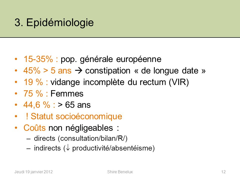 Dr Ariane Gerkens, Gastroentérologue Shire Benelux - ppt