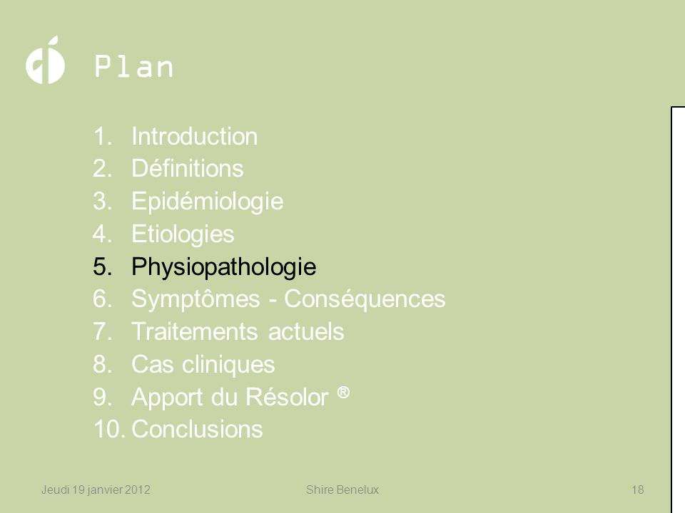 Plan Introduction Définitions Epidémiologie Etiologies
