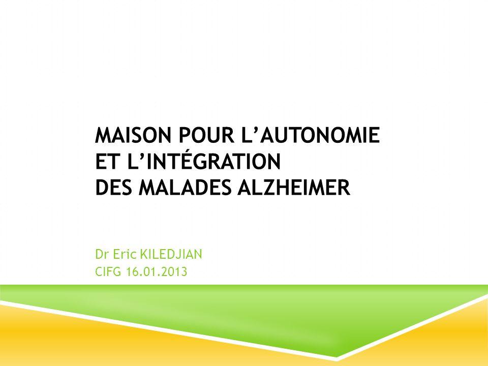Maison pour l'autonomie et l'intégration des malades Alzheimer