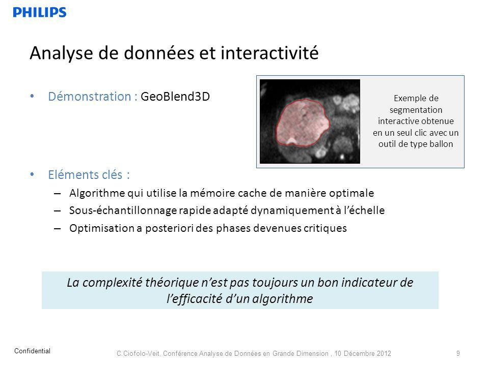 Analyse de données et interactivité