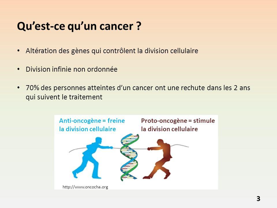 Qu'est-ce qu'un cancer