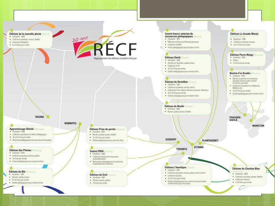 Regroupement des éditeurs canadiens-français (RECF)