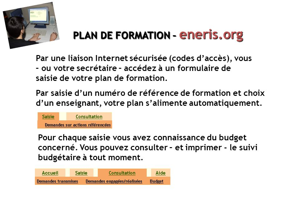 PLAN DE FORMATION – eneris.org