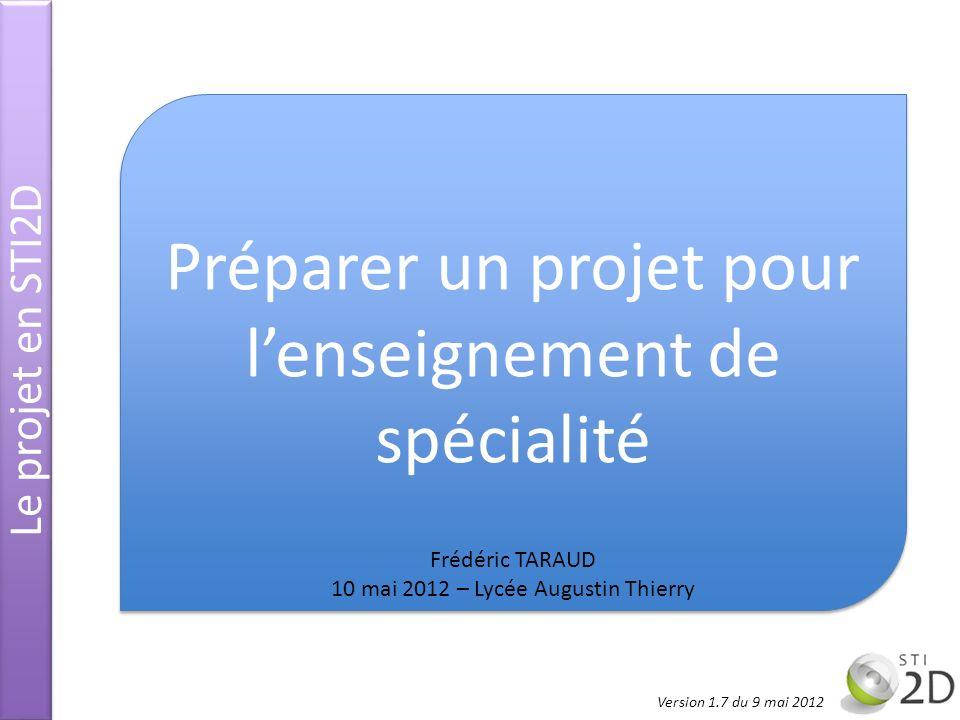 Préparer un projet pour l'enseignement de spécialité