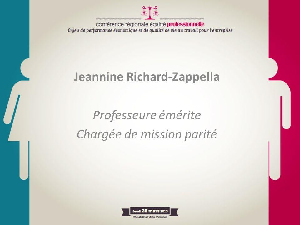 Jeannine Richard-Zappella Professeure émérite