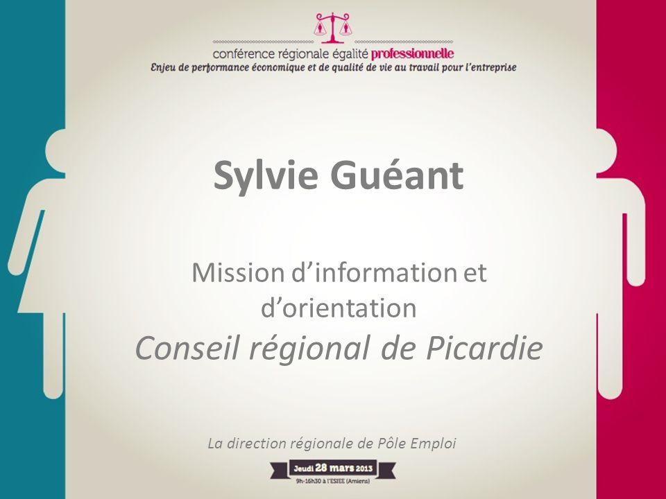 Sylvie Guéant Conseil régional de Picardie