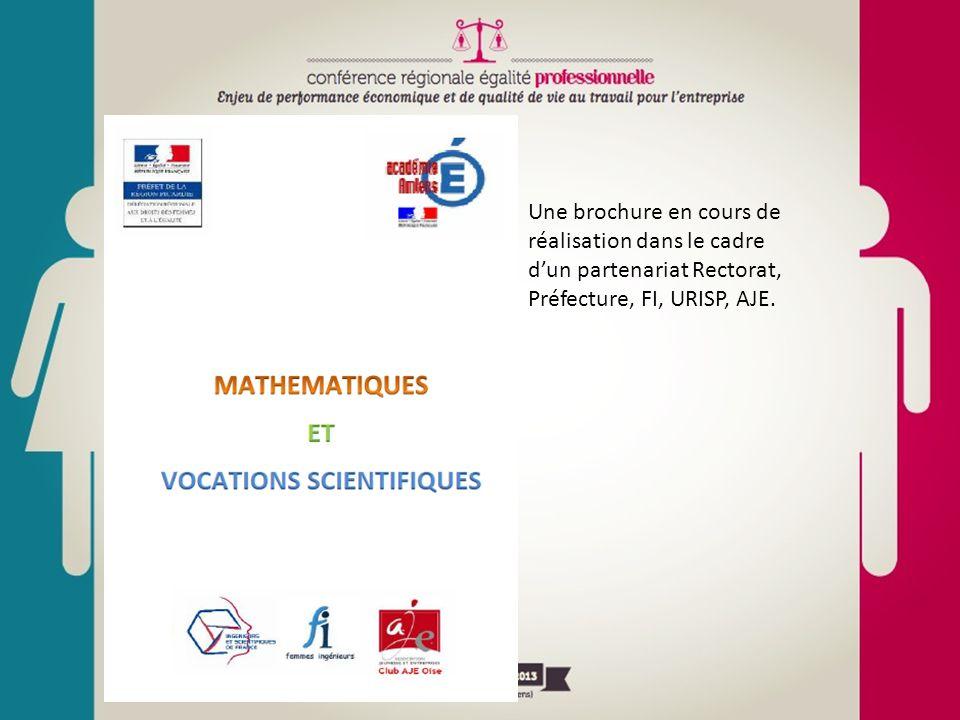 Une brochure en cours de réalisation dans le cadre d'un partenariat Rectorat, Préfecture, FI, URISP, AJE.