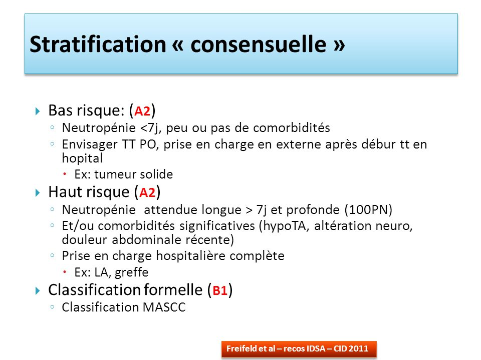 Stratification « consensuelle »