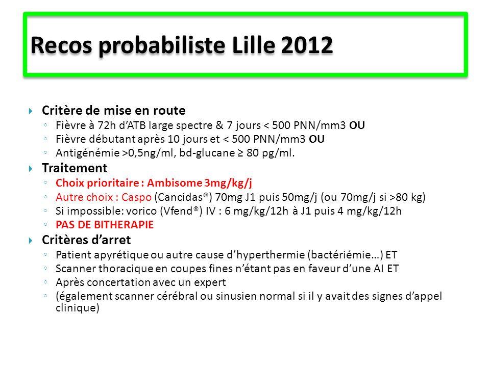 Recos probabiliste Lille 2012