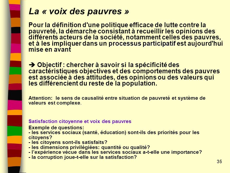 La « voix des pauvres »