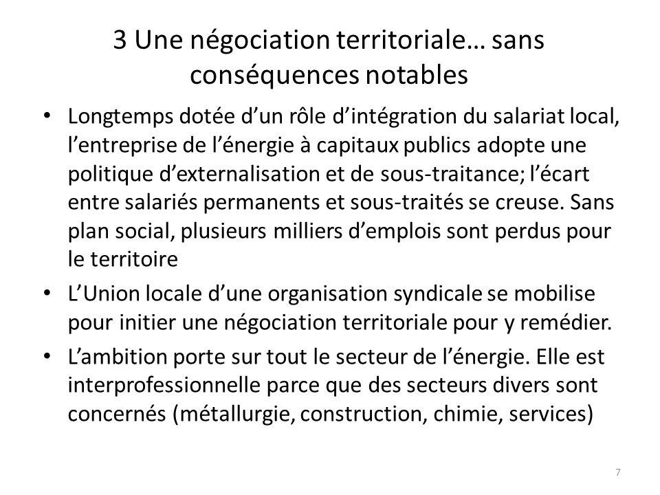 3 Une négociation territoriale… sans conséquences notables