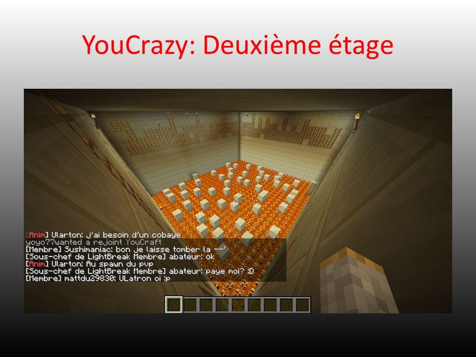 YouCrazy: Deuxième étage