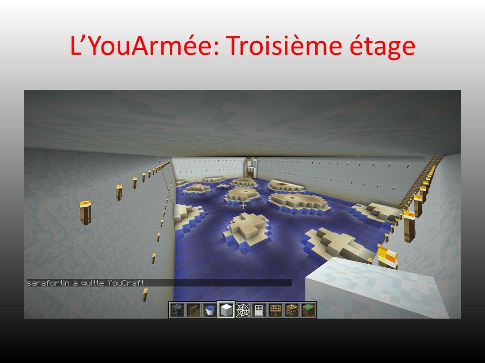 L'YouArmée: Troisième étage
