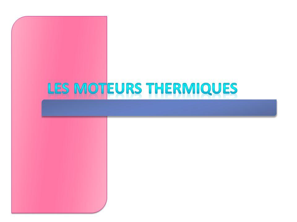 Les moteurs thermiques