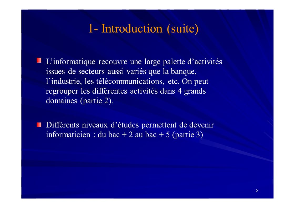 1- Introduction (suite)