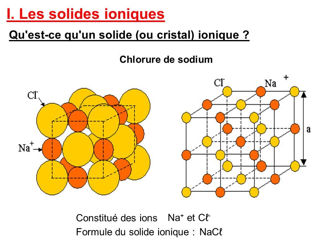 I les solides ioniques qu 39 est ce qu 39 un solide ou cristal for Ou acheter du percarbonate de sodium