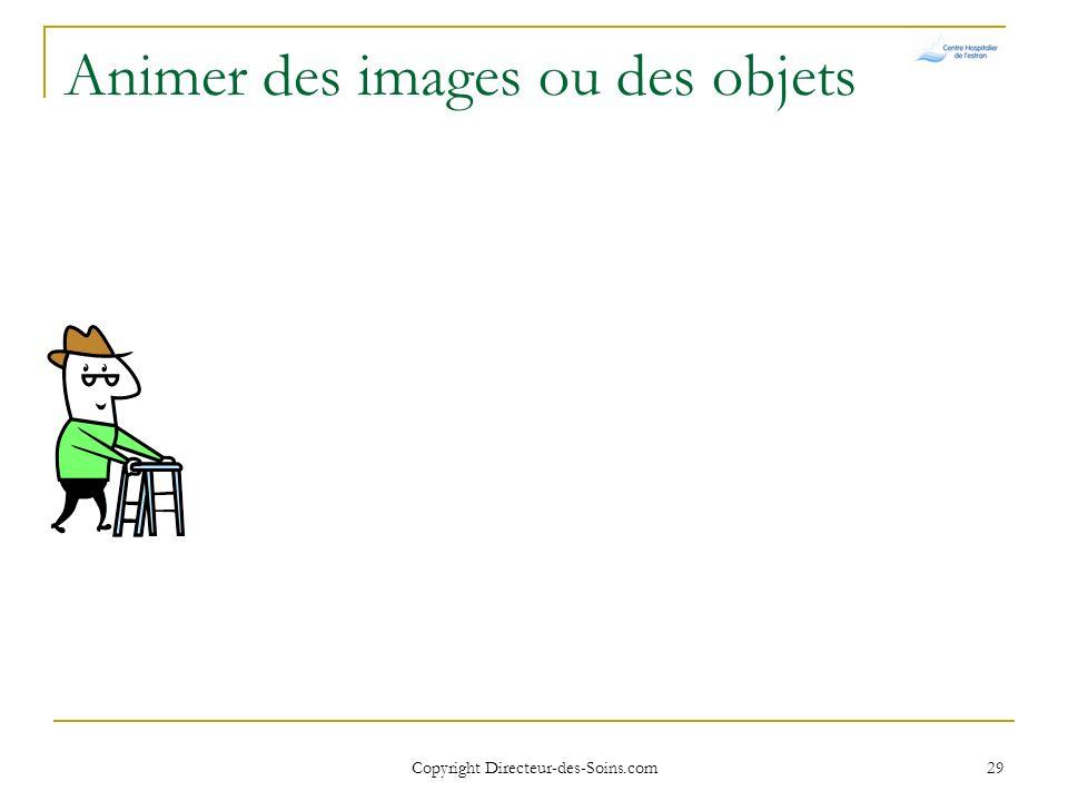 Animer des images ou des objets