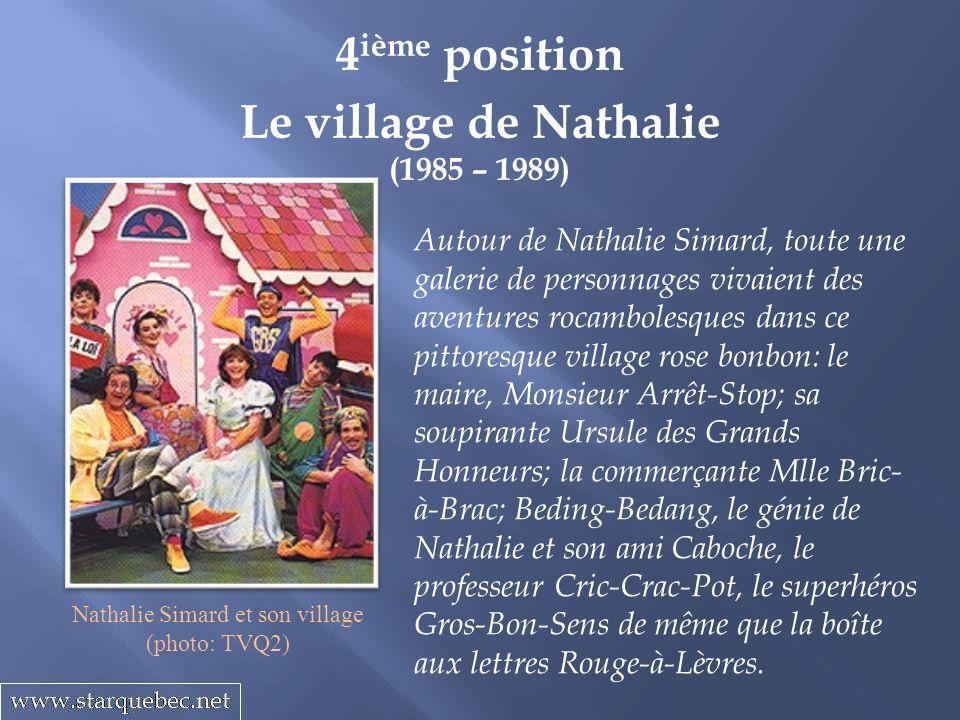 Nathalie Simard et son village