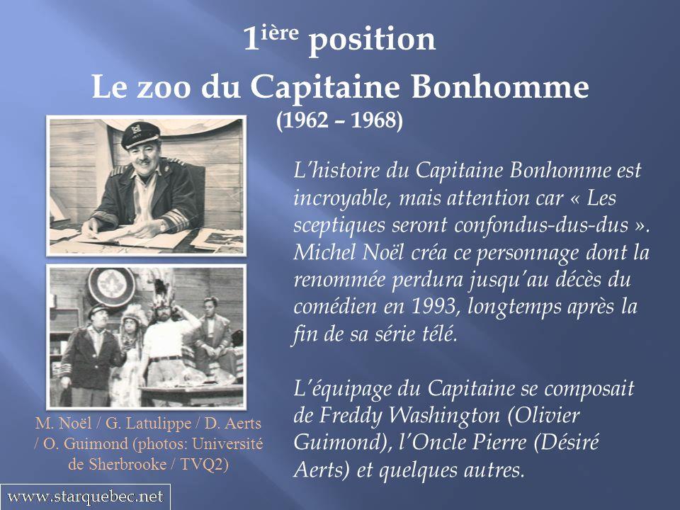 Le zoo du Capitaine Bonhomme