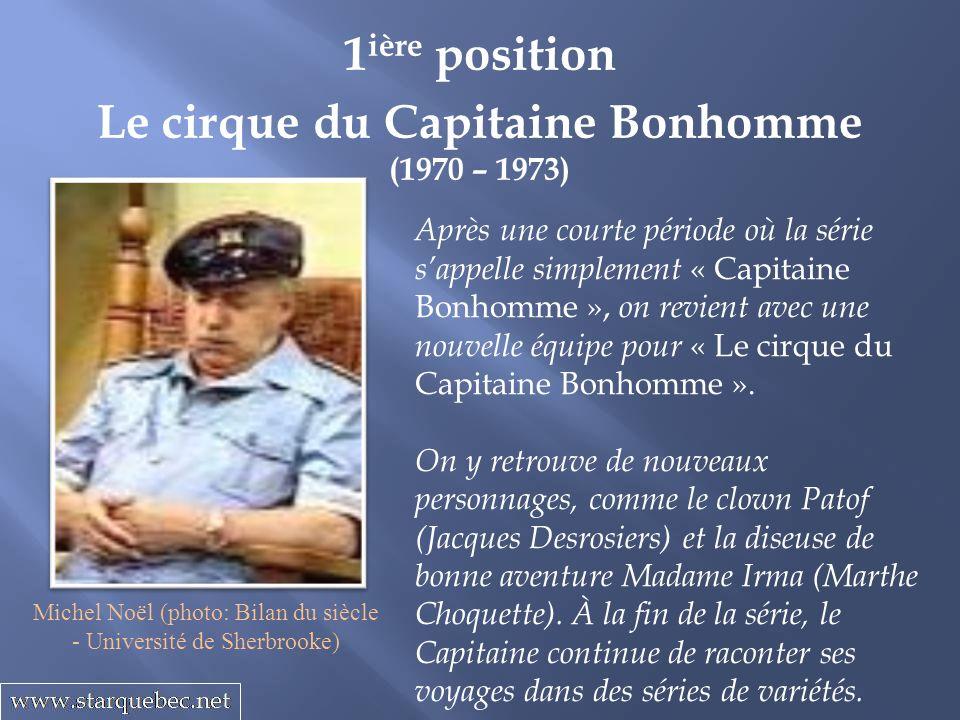 Le cirque du Capitaine Bonhomme