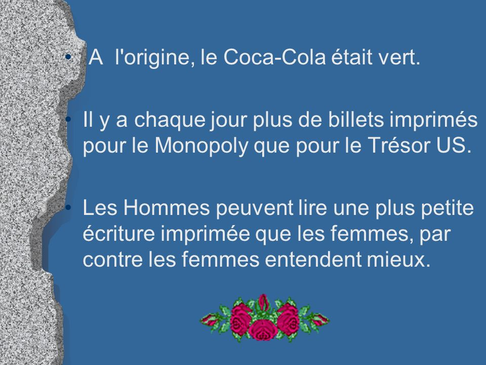 A l origine, le Coca-Cola était vert.
