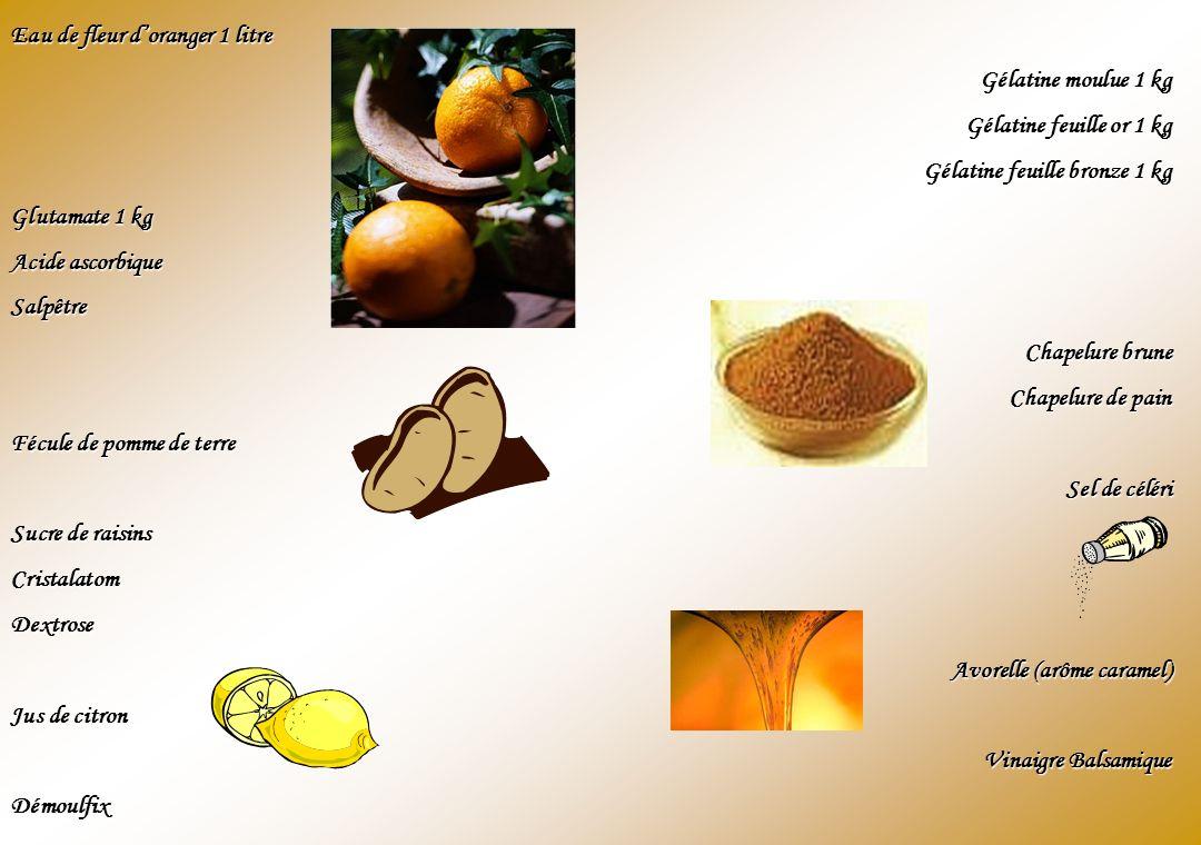 Eau de fleur d'oranger 1 litre