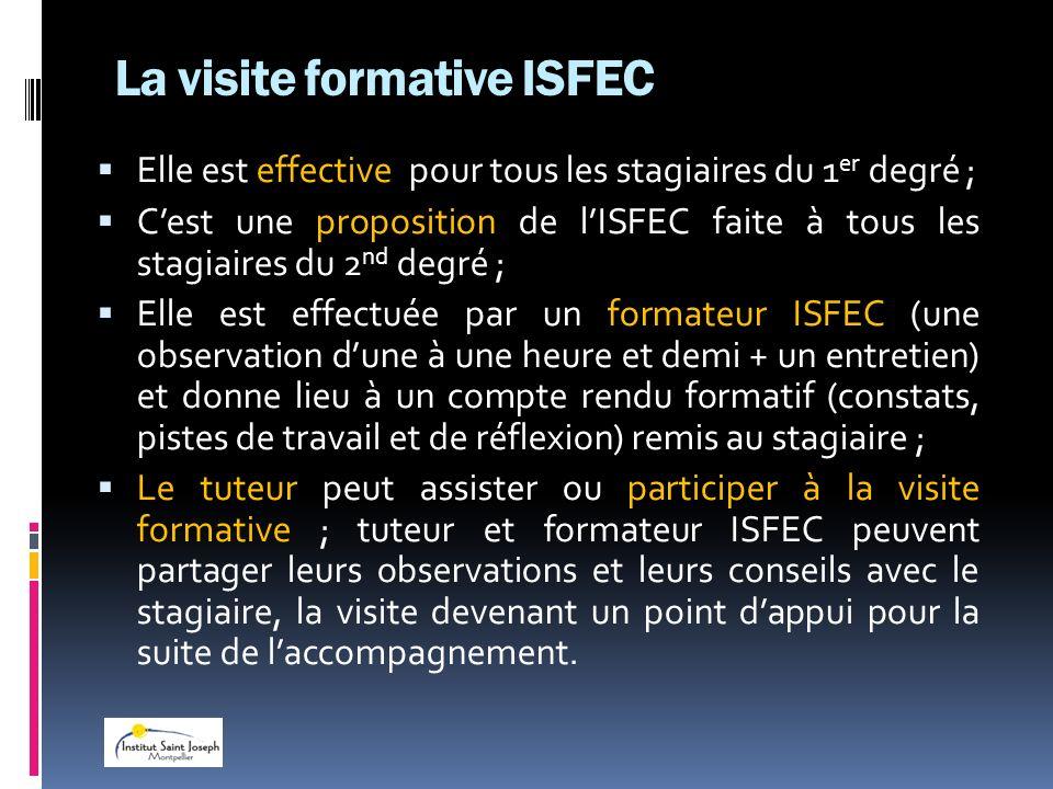 La visite formative ISFEC