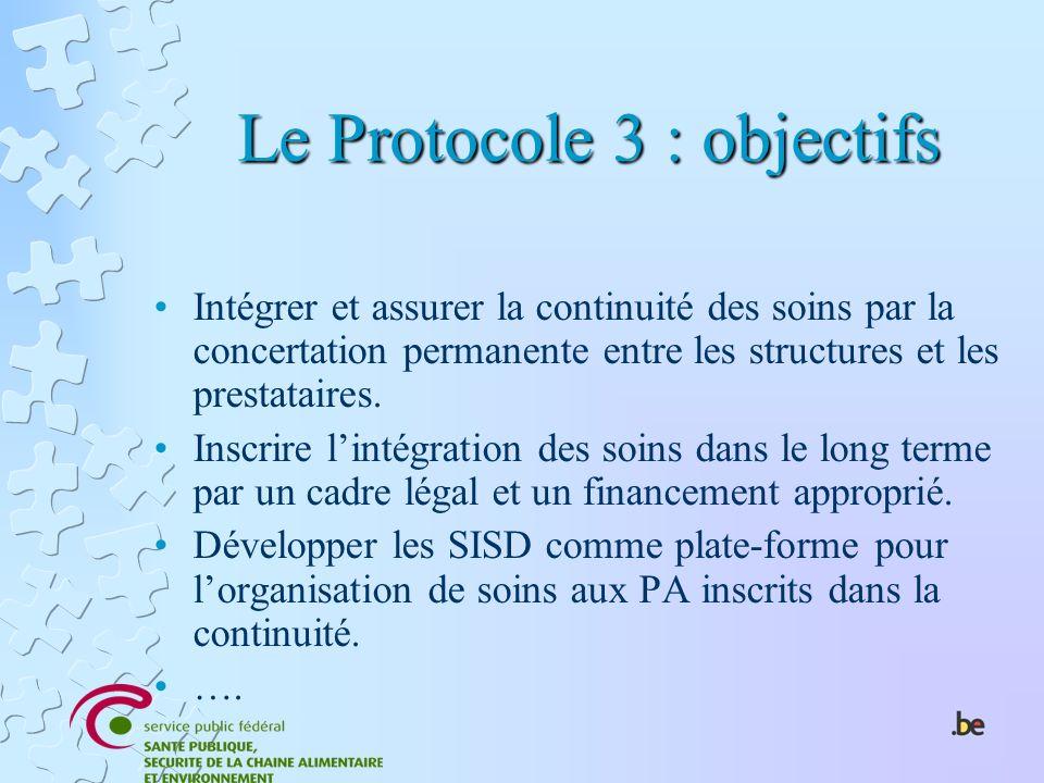 Le Protocole 3 : objectifs