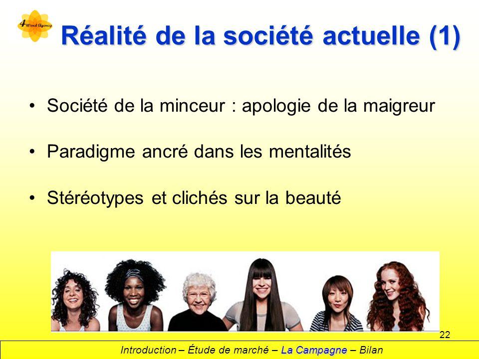 Réalité de la société actuelle (1)