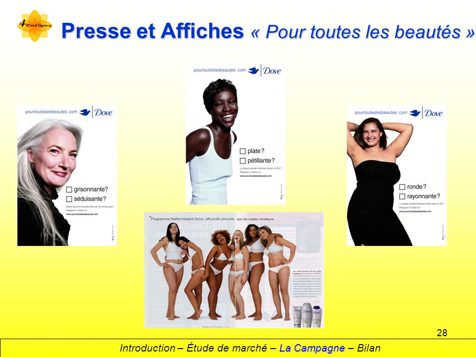 Presse et Affiches « Pour toutes les beautés »