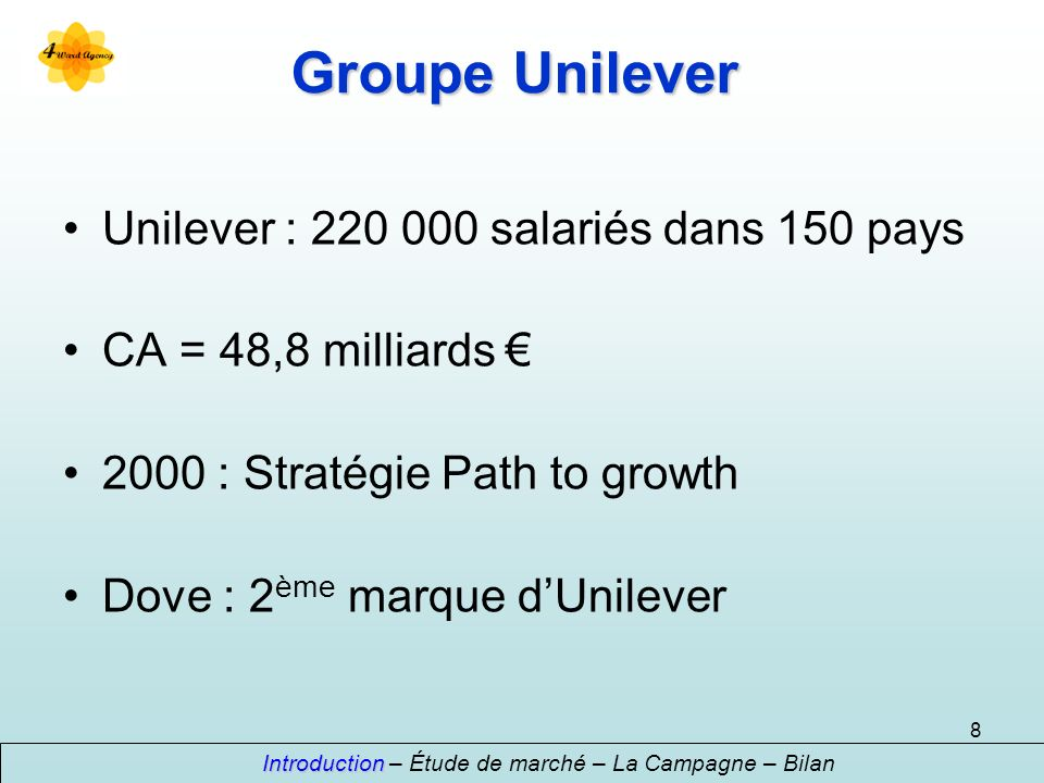 Introduction – Étude de marché – La Campagne – Bilan