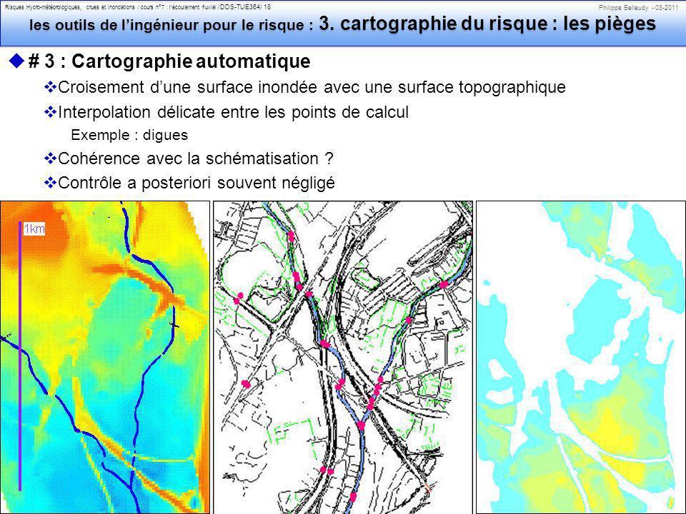 # 3 : Cartographie automatique