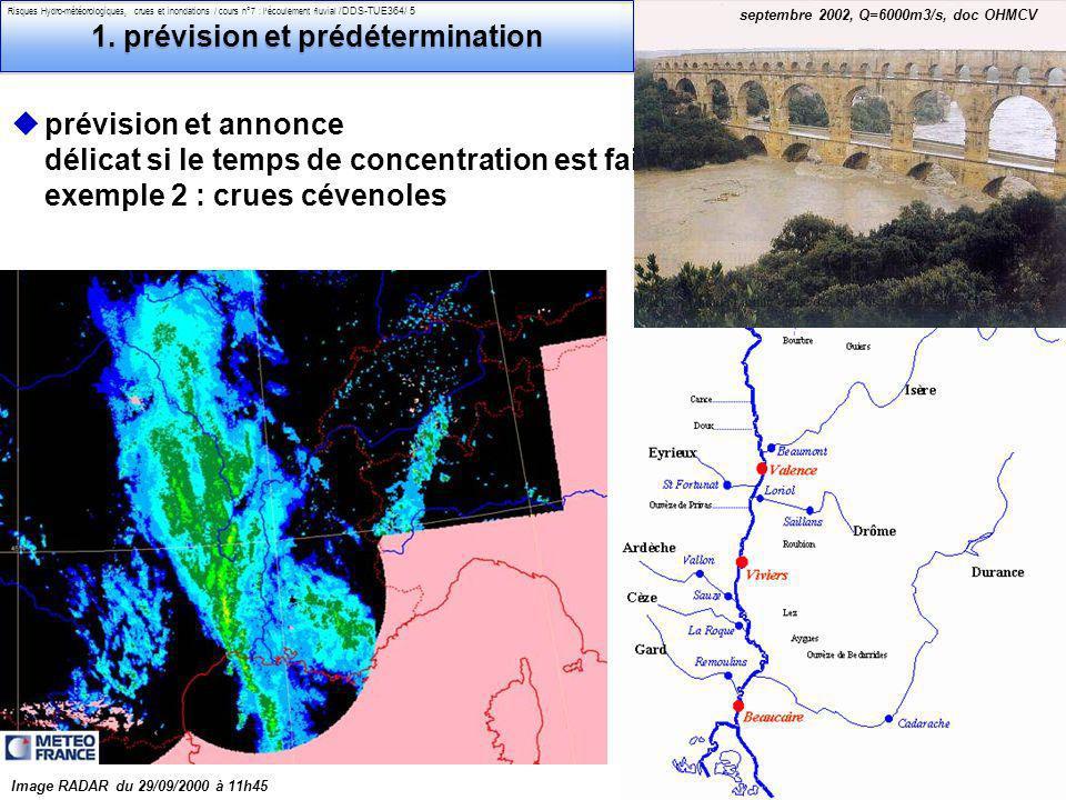 1. prévision et prédétermination
