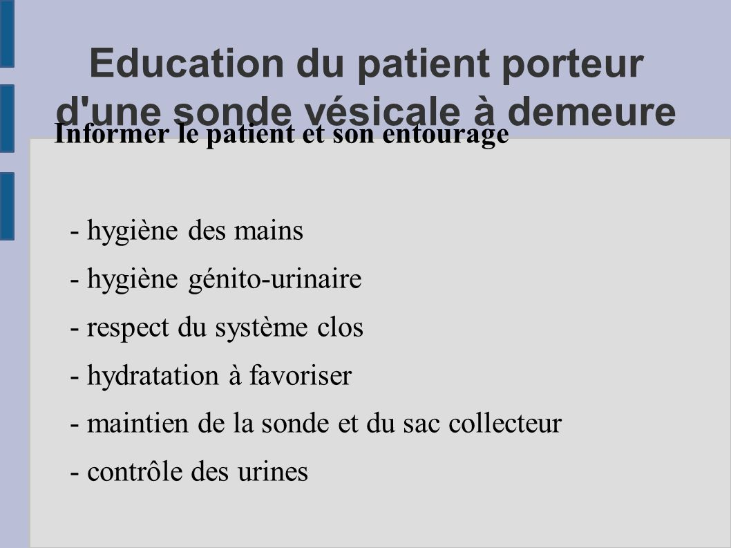 Le sondage v sical d finition ppt video online t l charger - Protocole chambre implantable ...