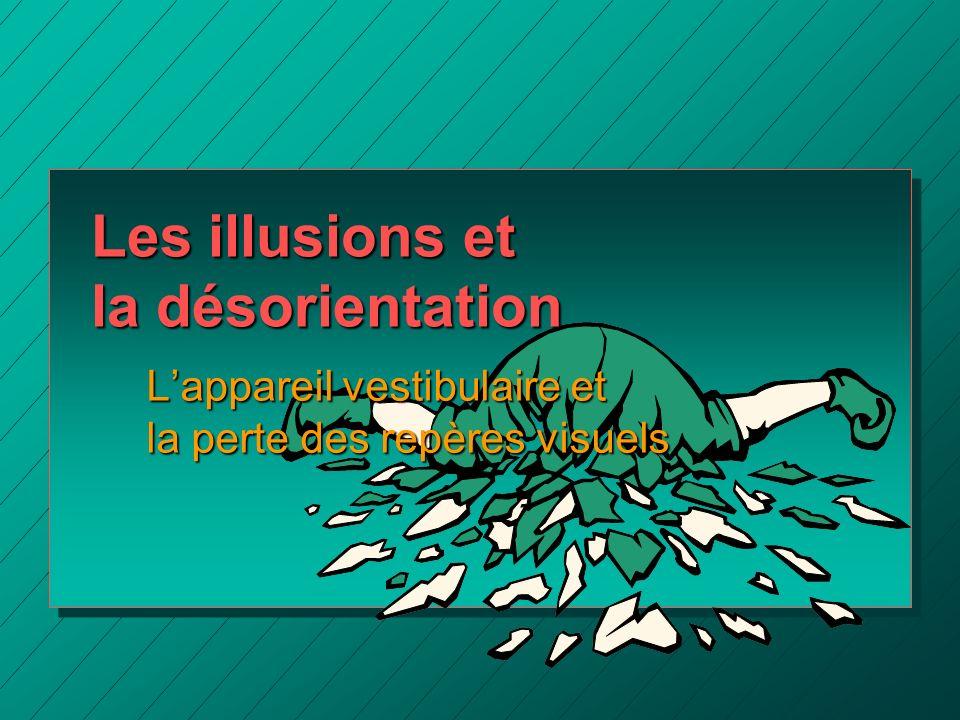 Les illusions et la désorientation
