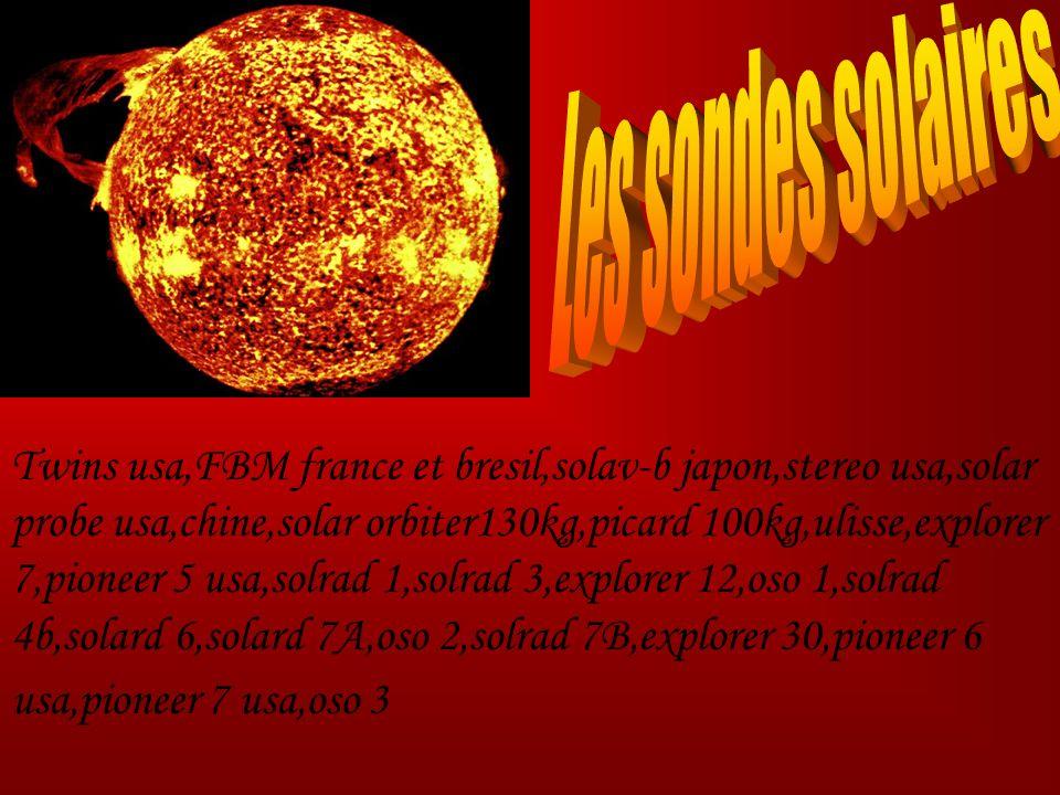 Les sondes solaires