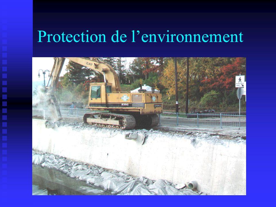 Protection de l'environnement
