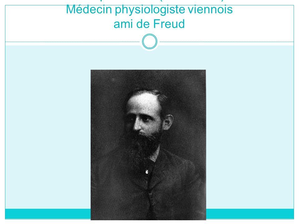 Joseph Breuer (1842-1925) Médecin physiologiste viennois ami de Freud