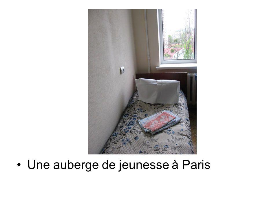 Une auberge de jeunesse à Paris